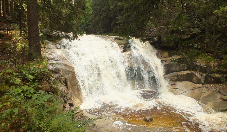 Mumlavsky Vodopad – strona czeska