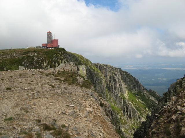 Szlak graniowy, Przełęcz pod Śnieżką – Szrenica