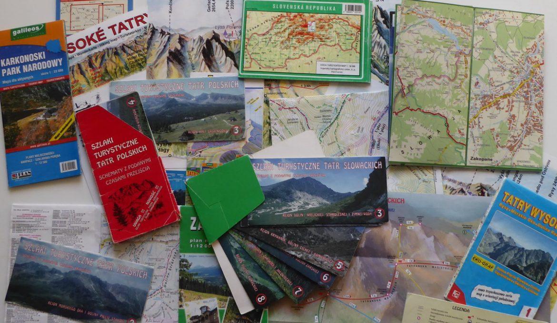 Tatry Polskie i Słowackie – mapy, linki, schematy