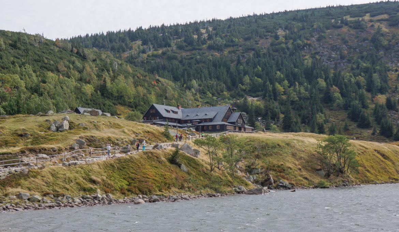 """Na Przełęcz pod Śnieżką i dalej do Małego Stawu (Schronisko """"Samotnia"""") – rejon Karpacza"""