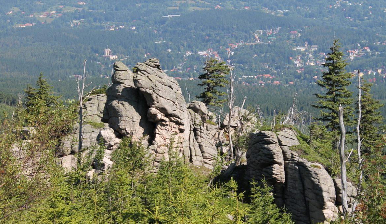 Skały i skałki Karkonoszy