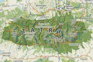 Tatry Polskie I Slowackie Mapy Linki Naszeszlaki Com Pl